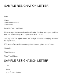 Formal Job Resignation Letter Email Template Definition Biology ...