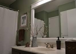 Pictures Of Framed Bathroom Mirrors WALLOWAOREGONCOM Stylish