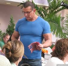 Robert Irvine from Restaurant Impossible is pretty swole