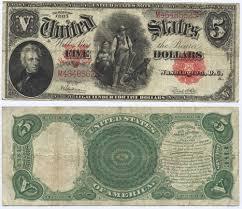 5 Dollar Design U S Five Dollar Bill Old Us 5 Dollar Bill Currency Design