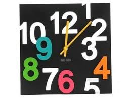 Small Picture Buy 3d Big Digit Stylish Modern Designer Wall Clock Online Best