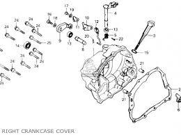 honda tlr200 reflex 1986 g usa california parts lists and schematics honda tlr200 reflex 1986 g usa california right crankcase cover