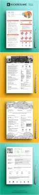 best images about infographic visual resumes beautiful infographic resume templates by kickresume com