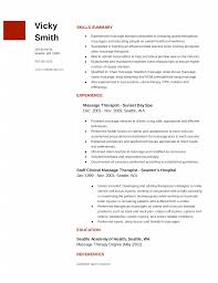 massage therapy resume the best lette sample massage therapy resume example qicldgvx