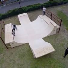 Need To Build One Of These  DIY Skate Spot Ideas  Pinterest How To Build A Skatepark In Your Backyard