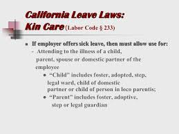 Doctors Note For Work Law California California Labor Law Sick Time Doctors Note Magdalene