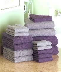 decorative bath towels purple. Wonderful Purple Towels Bathroom Color Idea Plum Gray Bath Towel Sets Decorative .