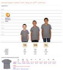 American Apparel Youth Size Chart 27 Unique American Apparel Youth Size Chart