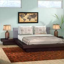 3 piece queen bedroom set. Exellent Set Rennan Queen Platform 3 Piece Bedroom Set Inside L