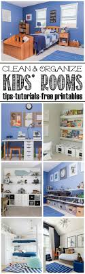 Organization For Bedrooms 17 Best Ideas About Kids Bedroom Organization On Pinterest Kids