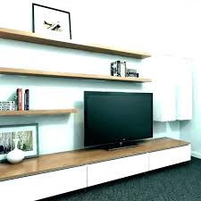 riser shelf monitor oak wood wooden tv small