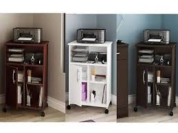 office rolling cart. brilliant cart office rolling portable computer printer stand cart cabinet shelves casters  wood with t