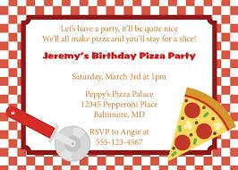 Pizza Party Invitation Templates Free Pizza Party Invitations Barca Fontanacountryinn Com