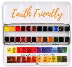 Denises Earth Friendly Da Vinci Watercolor Palette