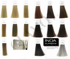 Inoa Supreme Color Chart Loreal Inoa Supreme Anti Age Coloration Without Ammonia