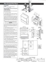 how to build a bat house plans elegant ladybug house plans design owlhouse plans001 copy garden
