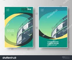 Green Brochure Template Creative Brochure Template Green Flyer Layout Stock Vector Royalty