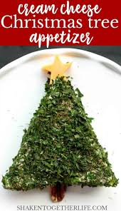 On a floured surface, divide pizza dough into two pieces. Cream Cheese Christmas Tree Appetizer Shaken Together