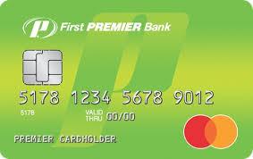 first premier bank credit cards