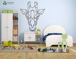 <b>YOYOYU Wall Decal</b> Geometric Giraffe Vinyl Wall Stickers Animal ...