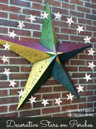 decorative stars seen on country homes