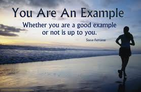 You Are An Example For Sales And Customer Service Performance