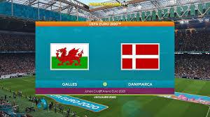 Pes 2021 UEFA EURO 2020 Galles Vs Danimarca | Johan Cruijff Arena - YouTube