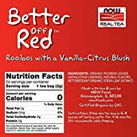 NOW Foods, Better Off Red Rooibos Tea with a ... - Amazon.com