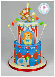 How To Make A Circus Themed Childrens Birthday Cake Step By Step