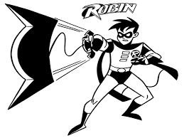 Batman And Robin Coloring Page - GetColoringPages.com