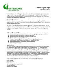 ... Graphic Design Job Resume And Graphic Designer Job Description Study ...