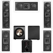 klipsch in wall speakers. klipsch kl-6504-thx 5.1 in-wall lcr speaker system-free pl-200 in wall speakers i