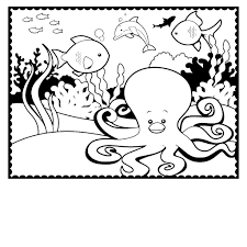 Small Picture Absolutely Octopus Coloring Page Octopus Coloring Page Image 13