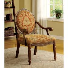 Furniture of America Letitia Victorian Style Antique Oak Accent Chair -  Free Shipping Today - Overstock.com - 16385275