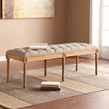 Padded Bench For Bedroom