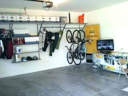 garage storage rack ladder hanging shelves bicycle ceiling hoist systems mount s garage ceiling