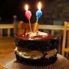 beautiful happy birthday chocolate cake with candles. Brilliant Candles Happy Birthday Chocolate Cake With Candles Intended Beautiful With Y