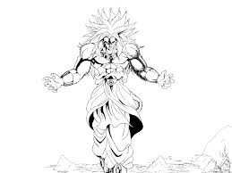 Dragon Ball Z Coloring Pages - coloringsuite.com