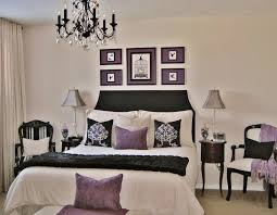 Purple Bedroom White Furniture White Wood Round Shaped Bedside Table Purple Master Bedroom Ideas