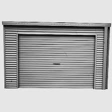 sliding garage doors adelaide beautiful smartlocker 800 2 4m x 0 8m portal frame zinc roller
