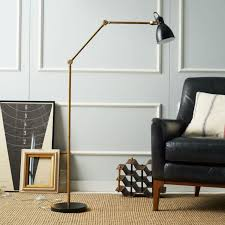 the metal of the moment the best brass floor lamps for stylish modern interiors