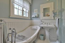 white beadboard bathroom. Country Beadboard Bathroom Walls For Small Space: Bathroom: Smart And Beautiful Designs White