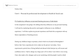 personal professional development in health social care n this document image preview