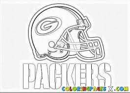 Awesome Green Bay Packers Helmet Coloring Pages Enjoy Coloring