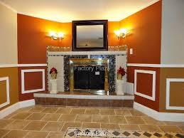 black granite fireplace surrounds