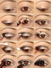 smokey eye makeup tutorial how to do eye makeup shadow unique trendy tutorial