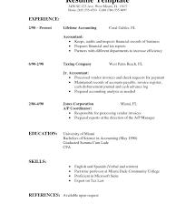 Entry Level Accounting Job Resume. Accounting Job Resume Sample ...