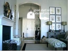 vaulted ceiling wall decor vaulted ceiling wall decor tall living room wall decorating ideas decorate large vaulted ceiling