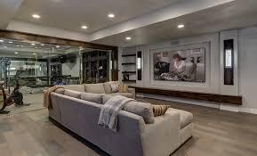 basement ideas man cave basement contemporary with workout home theater61 basement