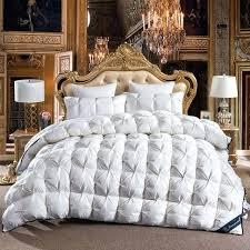 goose down duvet winter luxury quilted quilt bedding throw blanket king queen twin using size on comforter queen down duvet
